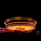Fair at night Stock Image
