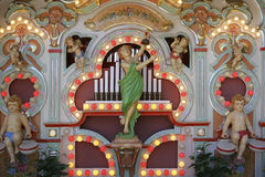 Fair organ on Auer Dult Market in Munich Royalty Free Stock Images