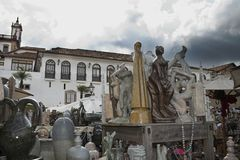 Fair in Ouro Preto Stock Photography