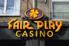 Fair play casino logo Royalty Free Stock Images