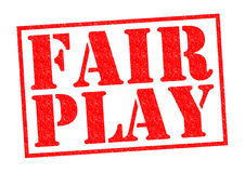 FAIR PLAY Stock Images