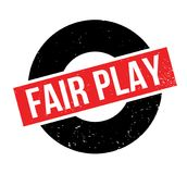 Fair Play rubber stamp stock illustration