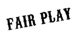 Fair Play rubber stamp vector illustration