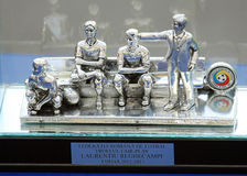 The Fair-Play Trophy Won by Laurentiu Reghecampf Stock Image