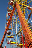 Fair Ride. Photo of one of the  ferris wheel at the Florida State Fair Royalty Free Stock Photography