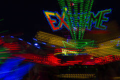 Fair Ride in Motion Royalty Free Stock Photos