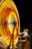 Fair ride at night Royalty Free Stock Images