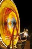 Fair ride at night Royalty Free Stock Images