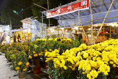 Fair's Chrysanthemum store Stock Photo