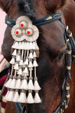Fair of Seville. Horse close up. Horse decoration Royalty Free Stock Photo