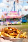 The fair is a smorgasboard Stock Photos