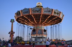 Fair swing ride Royalty Free Stock Photography