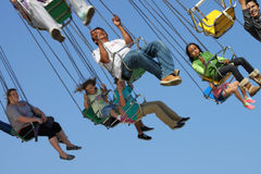 Fair, Swing Ride Stock Photography