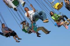 Fair, Swing Ride. Santa Barbara, CA State Fair April 2013, swing ride Stock Photography