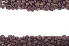 Fair trade coffee beans filmstrip Stock Photo