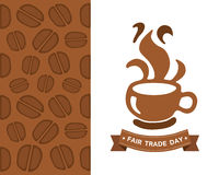 Fair Trade day vector Stock Images