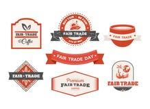 Fair Trade day vector Royalty Free Stock Image