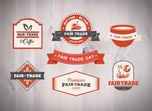 Fair Trade day vector Royalty Free Stock Photo