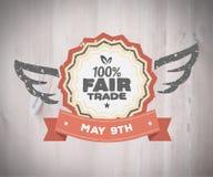 Fair Trade day vector Royalty Free Stock Photos