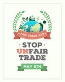 Fair Trade day vector Stock Photography
