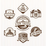 Fair Trade icons vector Royalty Free Stock Images