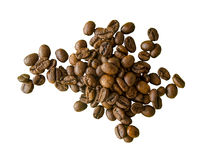 Fair Trade Organic Coffee Beans Stock Photography