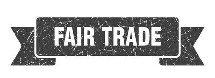 Fair trade ribbon. Fair trade vintage sign. banner. fair trade vector illustration