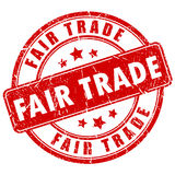 Fair trade stamp Royalty Free Stock Images
