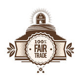 Fair Trade vector Royalty Free Stock Photos