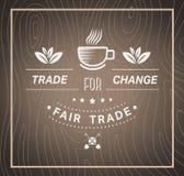 Fair Trade vector Stock Image