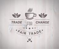 Fair Trade vector Royalty Free Stock Photo