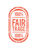 Fair Trade vector Royalty Free Stock Images