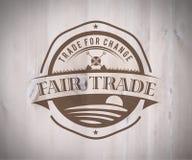 Fair Trade vector Royalty Free Stock Photography