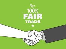 Fair Trade vector. Digitally generated Fair Trade vector royalty free illustration