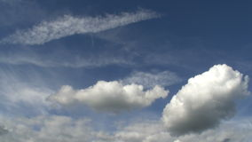 Fair Weather Clouds stock video