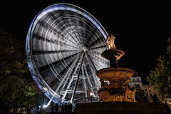 Fair wheel Stock Photography