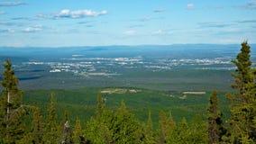 Fairbanks, Αλάσκα Στοκ εικόνες με δικαίωμα ελεύθερης χρήσης