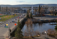 Fairbanks city Alaska Stock Photography