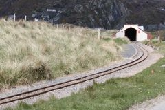Fairbourne railway tunnel Royalty Free Stock Photo
