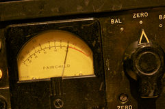 Fairchild 660 Closeup; Abbey Road Studios, London Royalty Free Stock Images