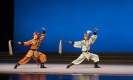"""Fairchild de los ciervos y de la grúa - el  blanco de Opera""""Madame Snake†del segundo acto-Kunqu Imagenes de archivo"""