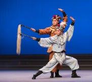 """Fairchild de los ciervos y de la grúa - el  blanco de Opera""""Madame Snake†del segundo acto-Kunqu Imagen de archivo libre de regalías"""