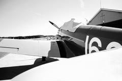Fairchild PT-19 B&W Stockfotografie