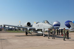 Fairchild Republic A-10 Thunderbolt II Stock Photography