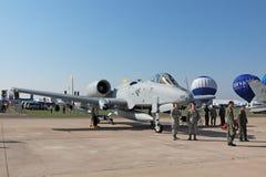 Fairchild Republic A-10 Thunderbolt II Stock Photography