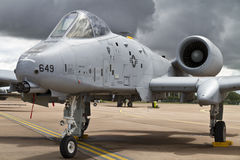 Fairchild Republic A-10C Thunderbolt II Stock Photo