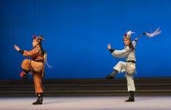"""Fairchild van de herten en de kraan - tweede handeling-Kunqu Opera""""Madame Witte Snake† Stock Foto"""