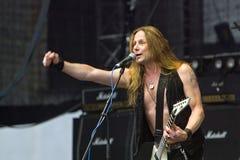 Faire appel de liberté à Metalfest 2013 Photo stock