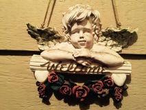 Faire bon accueil à l'amour d'ange Photo stock
