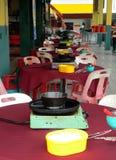 Faire cuire--Vous-même restaurant chinois Photo stock